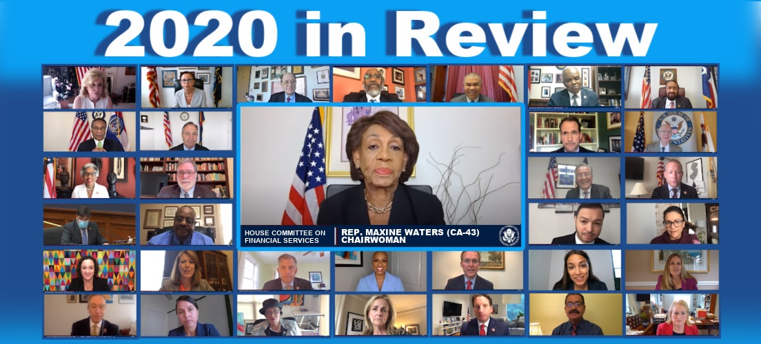 2020 Committee Report, Highlights Legislative Efforts for Economic Recovery and Relief During A Time of Crisis